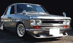 Datsun Bluebird SSS (510) Silver (ミニカー)