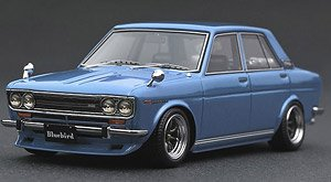 Datsun Bluebird SSS (510) Light Blue (ミニカー)