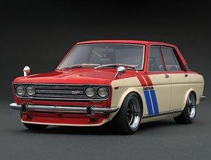 Datsun Bluebird Sss 510 Redwhite Diecast Car Hobbysearch