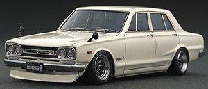 Nissan Skyline 2000 GT-R (PGC10) White (ミニカー)