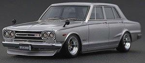 Nissan Skyline 2000 GT-R (PGC10) Silver (ミニカー)