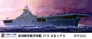WWII 米海軍 航空母艦 CV-9 エセックス (プラモデル)