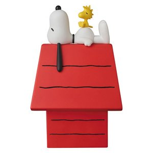 VCD No.261 SNOOPY w/ WOODSTOCK & 犬小屋 (完成品)