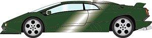 Lamborghini Diablo SE30 JOTA 1993 ダークグリーンメタリック (ミニカー)
