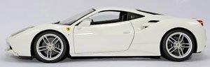 フェラーリ 488GTB(ホワイト) (ミニカー)