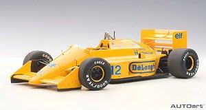 ロータス 99T ホンダ F1 日本GP 1987 #12 アイルトン・セナ (ロータスロゴ無し) (ミニカー)