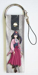 ビッグレザーストラップ 甲鉄城のカバネリ 03 菖蒲 (キャラクターグッズ)