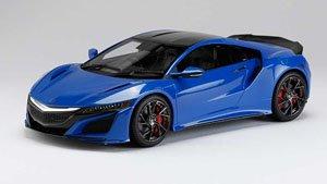 ホンダ NSX 2016 (メーカーオプション搭載車) ブルー (ミニカー)