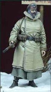 WWII ドイツ歩兵 冬季軍装 1 1914-18 (プラモデル)