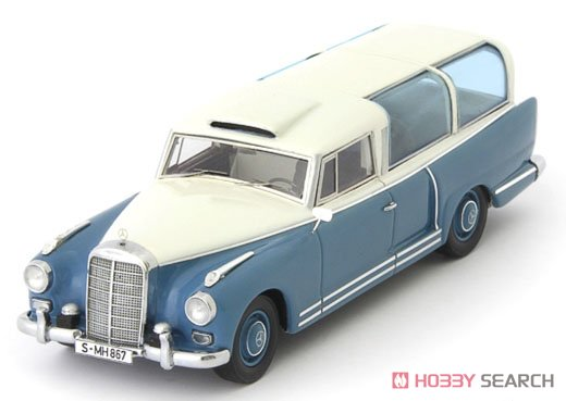 Mercedes-Benz Test car 1960 ブルー/ホワイト (ミニカー)