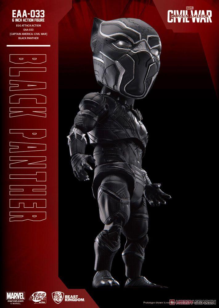 Egg Attack Action #015 『シビル・ウォー/キャプテン・アメリカ』 ブラックパンサー (完成品)