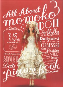 Dollybird Separate Volume All About Momoko Doll (Limited Edition) w/Bonus Item (Book)