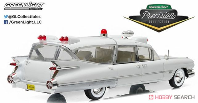 Precision Collection - 1959 Cadillac Ambulance - White (ミニカー)
