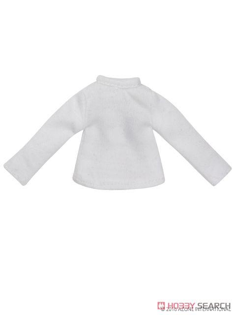 長袖Tシャツ (ホワイト) (ドール)