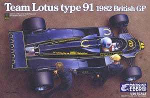 Team Lotus Type 91 1982 (プラモデル)