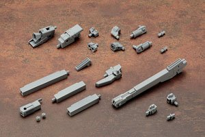 Mecha Supply 03 Propellant Tank (Square) (Plastic model)