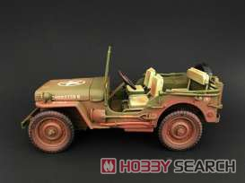 1944 Jeep Willys US ARMY アーミーグリーン ウェザリングバージョン (完成品AFV) 商品画像2