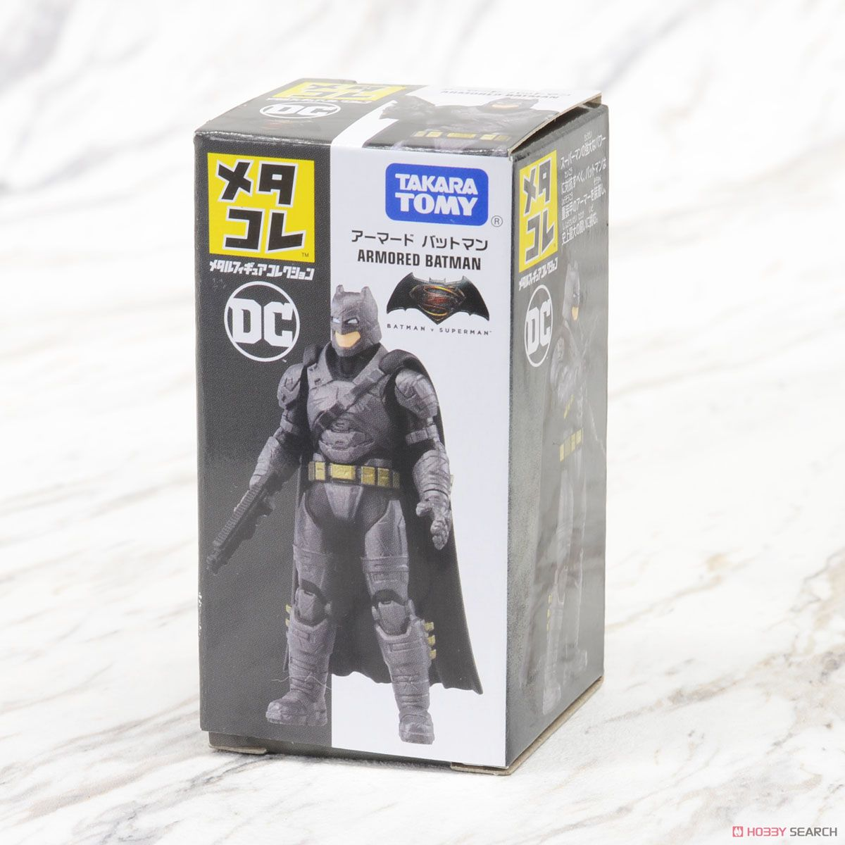 Metal Figure Collection DC Armored Batman (Completed) Package1