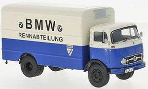 メルセデス LP911 トラック `BMW Racing Department` (ブルー/ホワイト) (ミニカー)