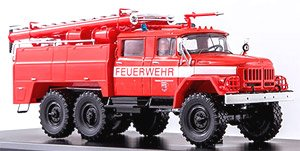 ZIL 131 (AC-40) 消防隊 ポンプ車(レッド) (ミニカー)