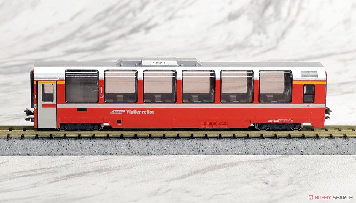 Kato Rhatische Bahn `Bernina Express` (9-Car Set) with RhB