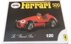 Ferrari 500 1952 F1GP Plastic Kit (w/Metal Parts, Unpainted