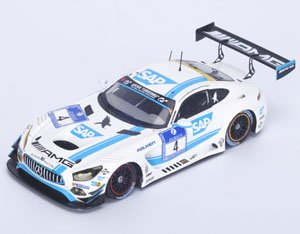 Mercedes-AMG GT3 No.4 Winner 24h Nurburgring 2016 AMG-Team Black Falcon (ミニカー)