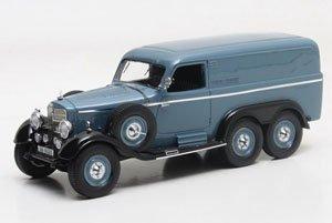 メルセデス・ベンツ G4 ボックスワゴン 1939 ブルー (ミニカー)