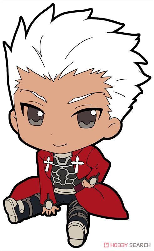 Fate/stay night [Unlimited Blade Works] ぺたん娘トレーディングラバーストラップ vol.1 10個セット (キャラクターグッズ)