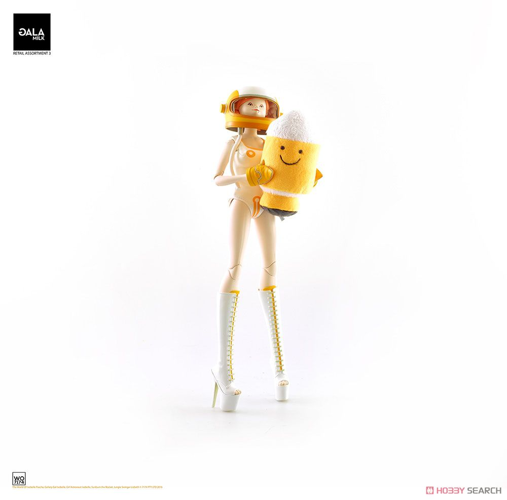 THE WORLD OF ISOBELLE PASCHA: GIRL ASTRONAUT ISOBELLE AND SUNBUM THE ROCKET (完成品)