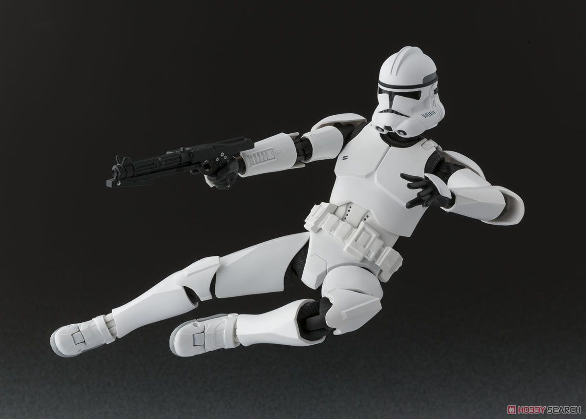shfiguarts clone trooper phase 2 completed images list