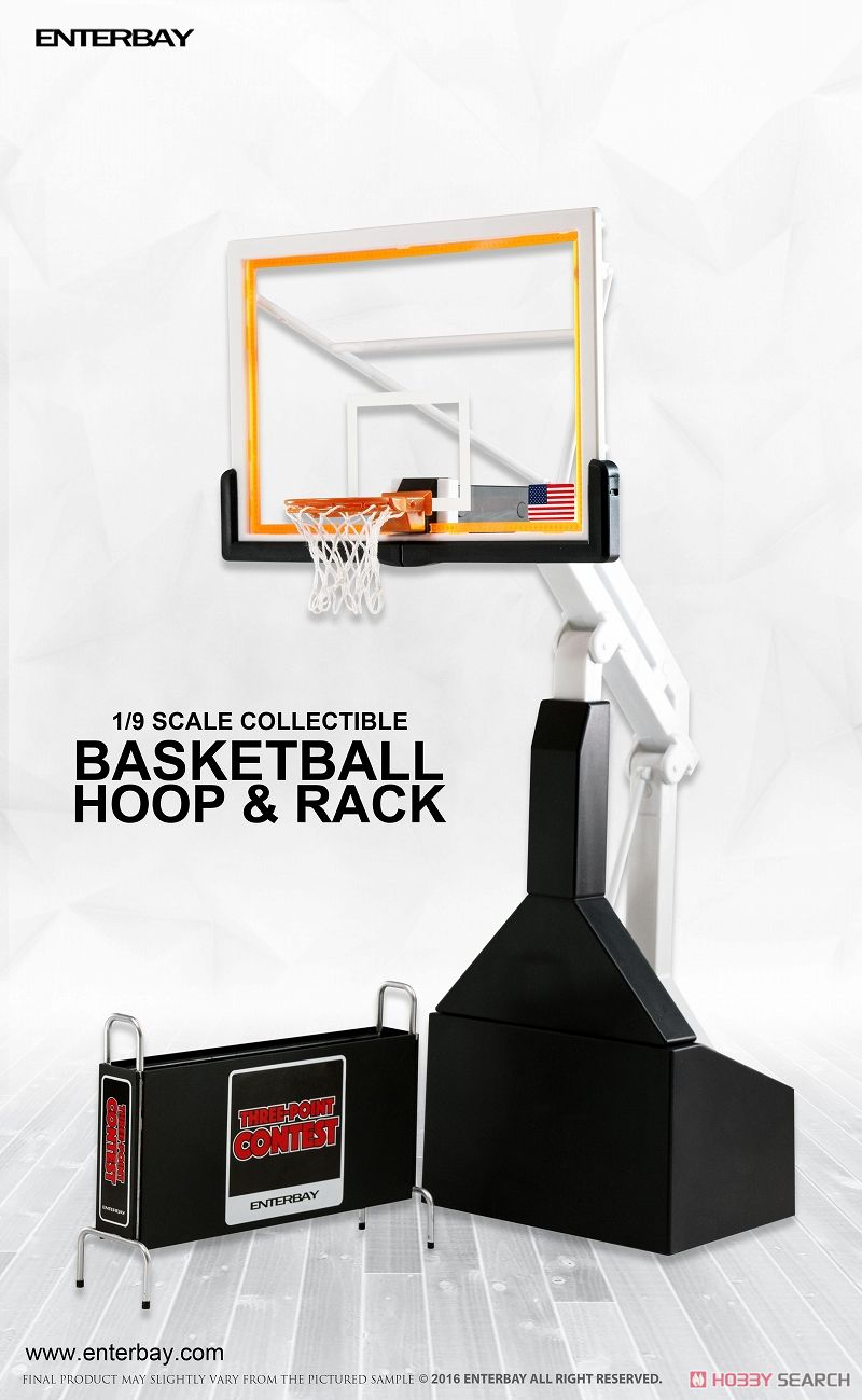 Motion Masterpiece Collectible Figure/ NBA Collection: Basketball Hoop Stand OR-1004 (Completed) Item picture1