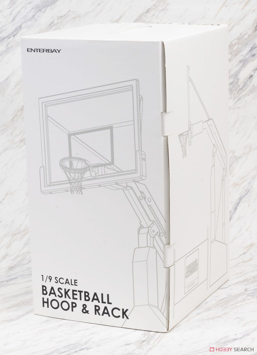 Motion Masterpiece Collectible Figure/ NBA Collection: Basketball Hoop Stand OR-1004 (Completed) Package1