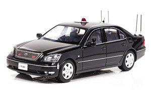トヨタ セルシオ (UCF30) 2006 警察本部警備部要人警護車両 (ミニカー)