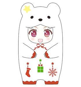 ねんどろいどもあ きぐるみフェイスパーツケース(しろくまクリスマスVer.) (フィギュア)