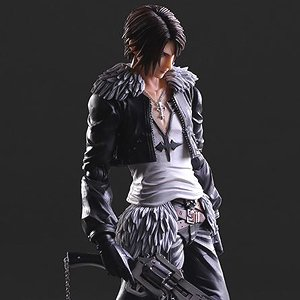 Dissidia Final Fantasy Play Arts Kai Squall Leonhart (PVC Figure)