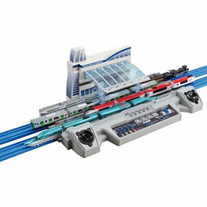 Plarail Advance Whole Line Arrival and Departure! Train Rush Terminal (Plarail)
