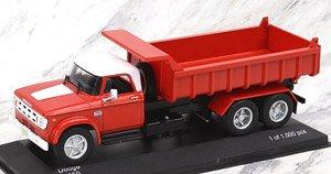 ダッジ D 950 ダンプトラック 1974 レッド/ホワイト (ミニカー)
