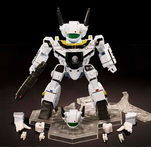 ROBOTECH SUPER-DEFORMED VF-1S ROY FOKKER`S VERITECH FIGHTER (完成品)