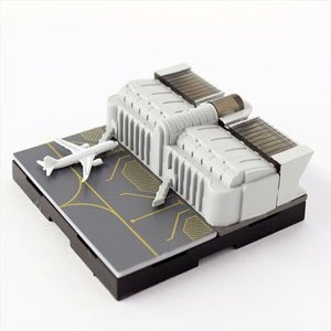 ジオクレイパー 拡張ユニット #008 エアポートシリーズ ターミナルビル (完成品)