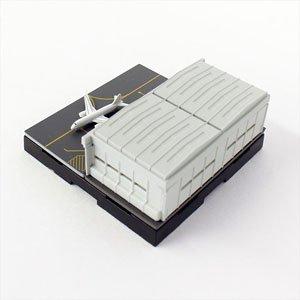 ジオクレイパー 拡張ユニット #010 エアポートシリーズ 格納庫 (完成品)