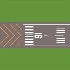 ジオクレイパー 拡張ユニット #011 エアポートシリーズ 滑走路セット (完成品)