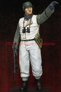 WWII 独 武装親衛隊第1装甲擲弾兵師団 下士官 `ハリコフの戦い` (プラモデル)
