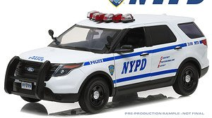 2015 Ford Police Interceptor Utility New York City Police Department (NYPD) (ミニカー)