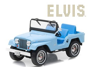 Elvis Presley (1935-77) - Jeep CJ-5 - Sierra Blue (ミニカー)