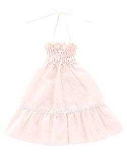 こもれび森のお洋服屋さん♪ 「PNSリボンシャーリングワンピース」 (ピンク) (ドール)