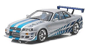 Artisan Collection - 2 Fast 2 Furious (2003) - 1999 Nissan Skyline GT-R (R34) (ミニカー)