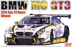 1/24 Racing Series BMW M6 GT3 2016 Total 24 Hours of Spa Winner (Model Car)