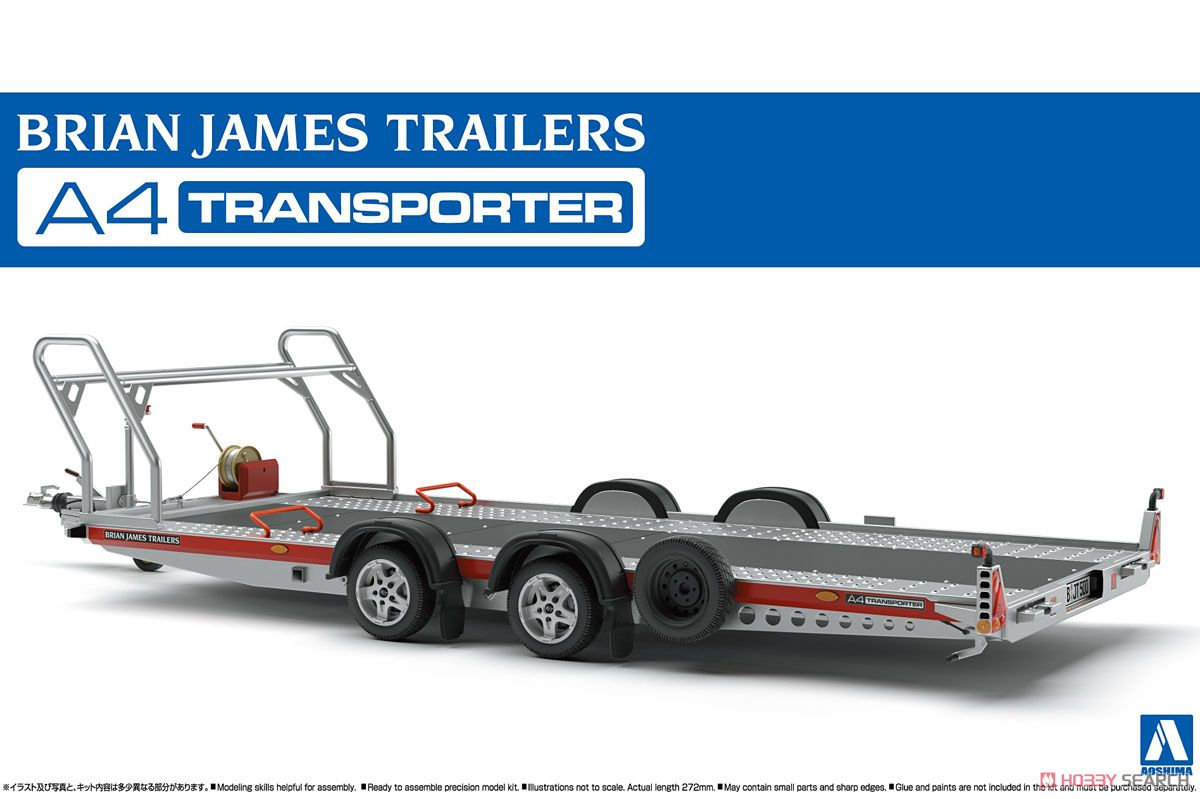 Brian James Trailers A4 Transporter (Model Car) Package1