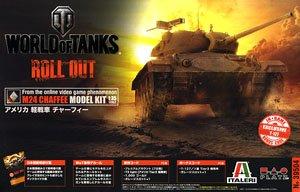 WORLD OF TANKS アメリカ 軽戦車 チャーフィー (プラモデル)